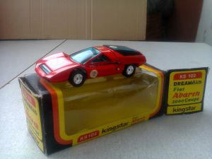 King Star  1/43 KS102  Fiat Abarth 2000 Coupe