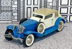 № 7001 Frobly 1/43 Cord L29 Coupe Karrosserie Weymann Hard Top 1930 blue/white/beige