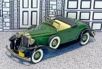 BRK 006A Brooklin 1/43 Packard Light 8 Conv.Top Down 1932 green