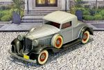 BRK 006 Brooklin 1/43 Packard Light 8 Coupe Conv.Top Up 1932 Silver/Black