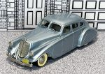 BRK 001 Brooklin 1/43 Pierce Arrow Silver Arrow Hard Top 1933 silver blue met.