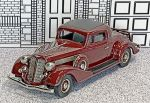 BC 001 Brooklin 1/43 Buick 96-S Coupe Hard Top 1935 cherry