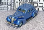 BC 006 Brooklin 1/43 Buick Special Plain Back 4-door Sedan M-47 Hard Top 1937 Blue met.
