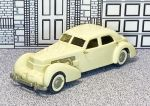 WMS 010 Western Models 1/43 Cord Custom Beverly Sedan Hard Top 1937 beige (1)