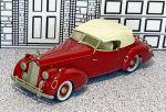 WMS 031 Western Models 1/43 Packard Darrin Conv.Top Up 1938 cherry (1)