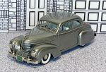 "BRK 038 Brooklin 1/43 Graham ""Sharknose"" Sedan Coupe Hard Top 1939 Grey met."