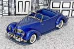 FS 004 Brooklin 1/43 Graham Hollywood Conv.Top Down 1940 blue met.