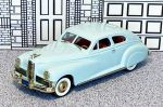 BRK 018B Brooklin 1/43 Packard Custom Super Eight Hard Top 1947 Light blue