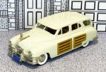 BRK 043 Brooklin 1/43 Packard Station Sedan Hard Top 1948 cream