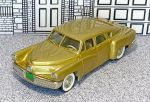 BRK 002A Brooklin 1/43 Tucker Torpedo Hard Top 1948 Gold