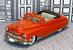 BRK 015A Brooklin 1/43 Mercury Conv.Top Down 1950 red