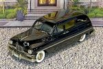 "CSV 007 Brooklin 1/43 Packard Henney ""Hearse"" Hard Top 1950 black"