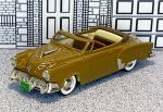 BRK 017A Brooklin 1/43 Studebaker Starlight Conv.Top Down 1952 Brown