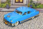 BRK 029 Brooklin 1/43 Kaiser Manhattan 4-door Sedan Hard Top 1953 Blue (1)