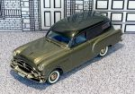 "CSV 005 Brooklin 1/43 Packard Henney Junior ""Hearse""Hard Top 1953 Grey Met."