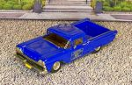 "WMS 053 Western Models 1/43 Ford Ranchero Pick-Up ""MCC"" 1959 Dark  Blue (1)"