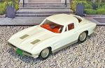 BRK 021 Brooklin 1/43 Chevrolet Corvette Stingray Coupe Hard Top 1963 White (1)