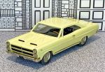 AA 18 American Classics 1/43 Mercury Comet Cyclone Coupe Hard Top 1966 light yellow