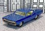 AA 13B American Classics 1/43 Ford Torino Coupe Hard Top 1968 dark blue
