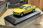 430 023321 Minichamps 1/43 BMW 3-series coupe yellow (1)