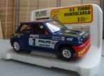 0160 BBurago 1/24 Renault 5 Turbo Monte-Carlo(Made in Italy)