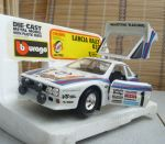 0195 BBurago 1/24 Lancia Rally 037(Made in Italy)